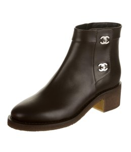 Chanel Ankle Ankle black Boots