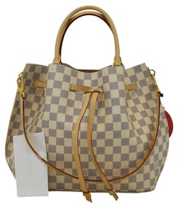 7a2392e59c1b Louis Vuitton Girolata Damier Azur Shoulder Bag - Tradesy