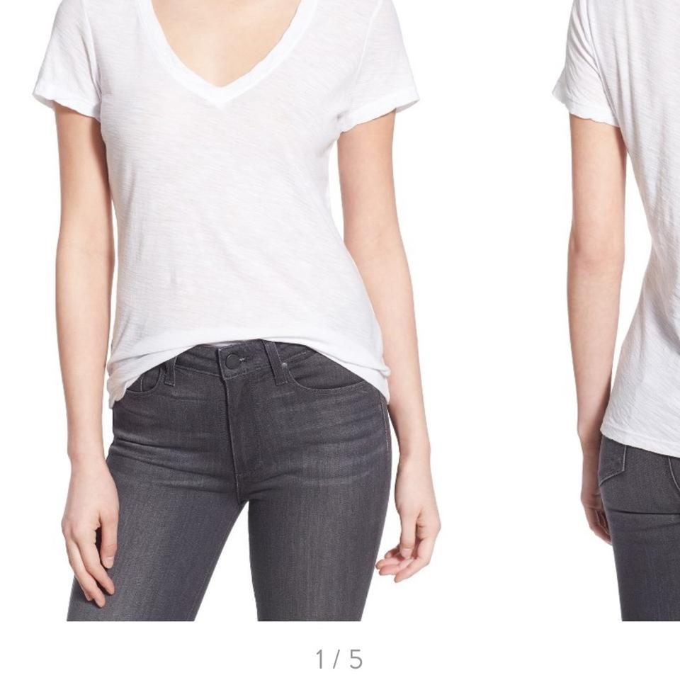 James perse t shirt white 57 off retail for James perse t shirts sale
