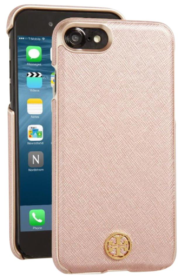 677b86c2c Tory Burch Tory Burch Robinson Rose Gold iPhone 6 hardshell phone case  Image 0 ...