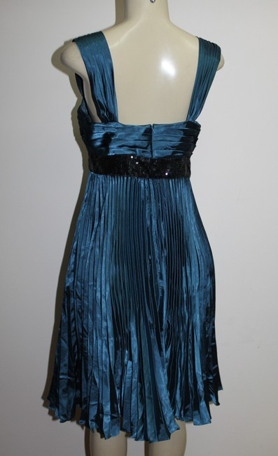 JS COLLECTIONS short dress TEAL on Tradesy Image 3