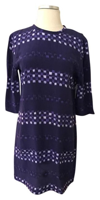 Preload https://img-static.tradesy.com/item/21476826/equipment-blue-geo-silk-34-sleeve-tunic-mid-length-short-casual-dress-size-2-xs-0-1-650-650.jpg