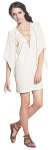 Allison collection new york short dress Ivory on Tradesy