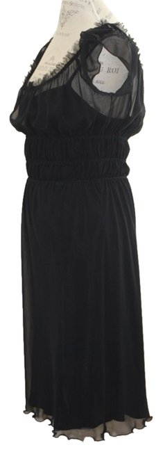 A.B.S. by Allen Schwartz Abs Sheer Lbd Dress