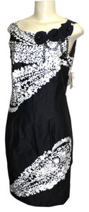 Taylor short dress BLACK/IVORY on Tradesy