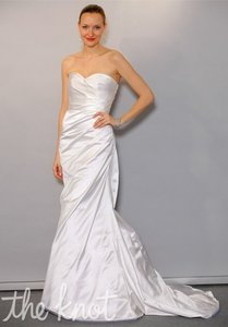 Anne Barge Pearl Silk Harper Destination Wedding Dress Size 2 (XS)