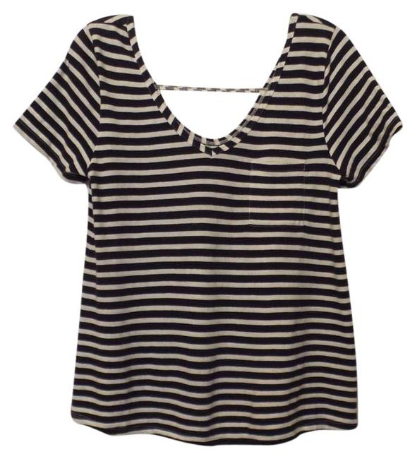 Preload https://img-static.tradesy.com/item/21477678/anthropologie-navy-white-pure-good-new-striped-cotton-knit-blouse-size-6-s-0-1-650-650.jpg