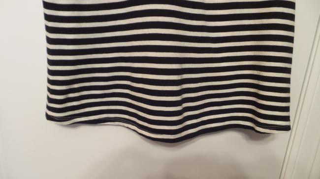 Anthropologie New Knit French Sailor Pure Top Navy + White Image 5