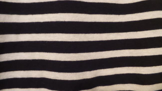 Anthropologie New Knit French Sailor Pure Top Navy + White Image 6