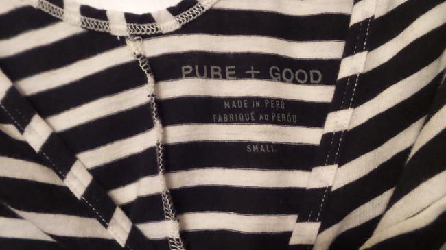 Anthropologie New Knit French Sailor Pure Top Navy + White Image 7