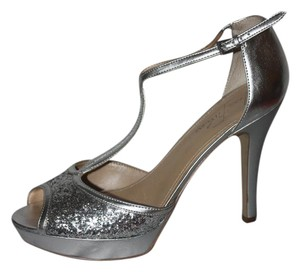 Baby Phat silver sequins Pumps
