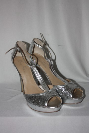 Baby Phat silver sequins Pumps Image 2