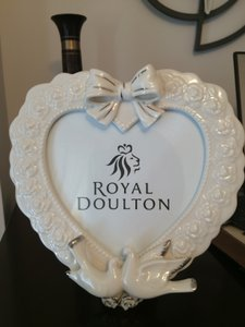Royal Doulton Bride and Groom Picture Photo Frame