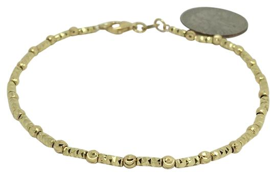 Preload https://img-static.tradesy.com/item/21477901/18k-yellow-gold-diamond-cut-bead-bracelet-0-1-540-540.jpg