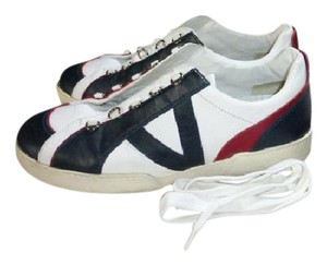 Louis Vuitton WHITE WITH BLUE & RED Athletic