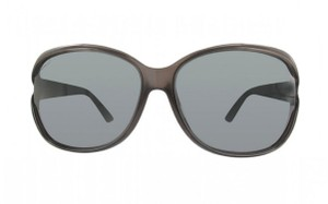 Gucci Brown Asian Fit Oversized Sunglasses