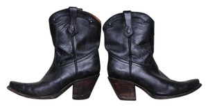 Charlie 1 Horse Western Lucchese Cowboy black Boots