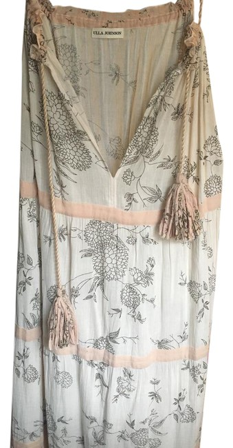Item - White/Pink Long Casual Maxi Dress Size 6 (S)