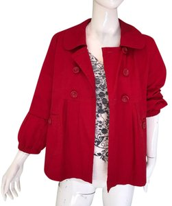 Tulle red Jacket