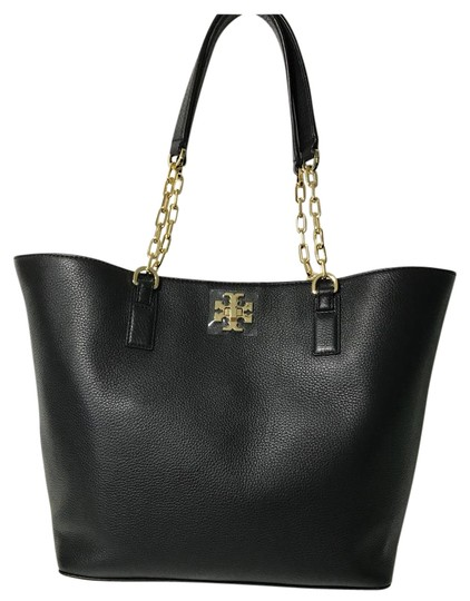 Preload https://item3.tradesy.com/images/tory-burch-mercer-black-leather-tote-21480012-0-2.jpg?width=440&height=440