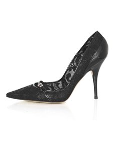 Casadei Lace Heels black Pumps