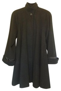 Searle Cashmere Swing A-line Wool Coat