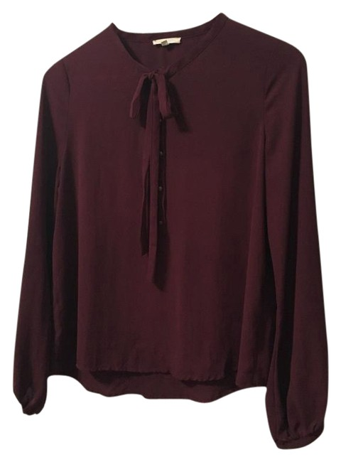 Item - Burgundy From Urban Outfitters Blouse Size 4 (S)