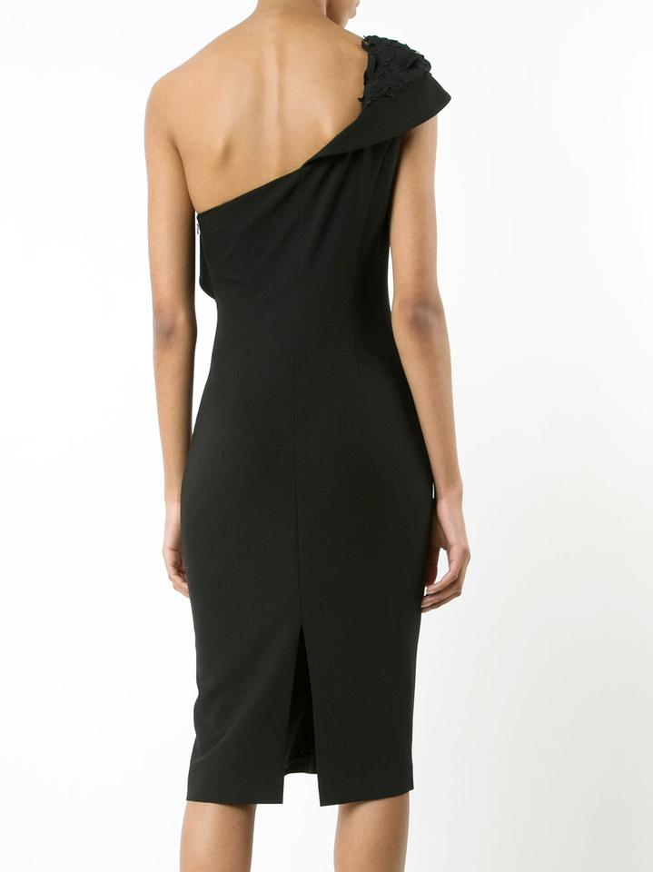a9db2aed176 Black Halo One-shoulder Rochester Sheath Mid-length Cocktail Dress ...