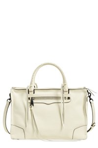 Rebecca Minkoff White Satchel in Antique White