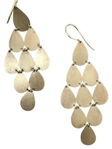 Irene Neuwirth 9 Drop Gold Chandelier Earrings