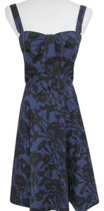 Marc Jacobs short dress Black and Blue on Tradesy