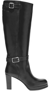 Acne Studios Knee High Leather Black Boots