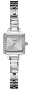 Guess W0692L1 Fashion Women's Silver Steel Bracelet With Silver Analog Dial
