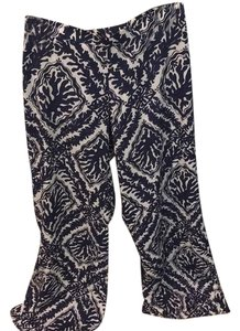 Lilly Pulitzer Flare Pants Navy printed