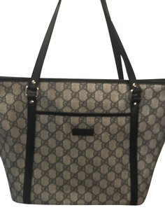 Gucci Tote in Dark Blue and Grey