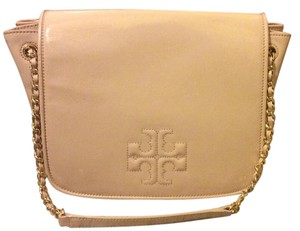 Tory Burch Patent Leather Chain Shoulder Bag