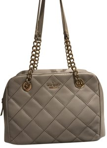 Kate Spade Emerson Place Dewy Quilted Leather Chain-link Straps Shoulder Bag