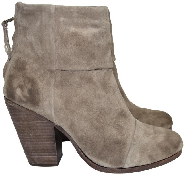 Item - Taupe Grey Suede Newbury Ankle Waxed (Wr1) Boots/Booties Size EU 38 (Approx. US 8) Regular (M, B)
