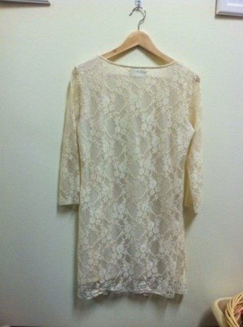 Forever 21 short dress Creme Lace on Tradesy