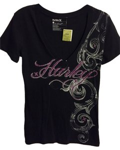 Hurley T Shirt black