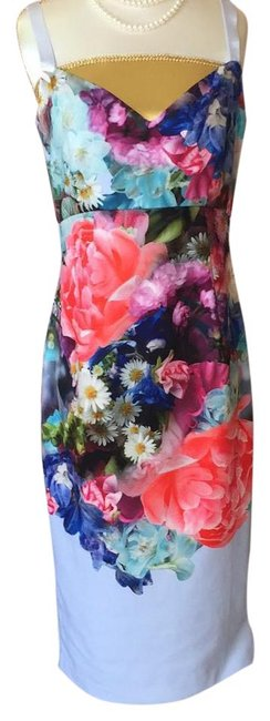 Item - Multi Colored Mid-length Night Out Dress Size 6 (S)