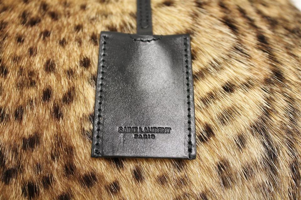 004570a5e8f Saint Laurent Ysl Fur Handbag Shoulder Bag Image 11. 123456789101112