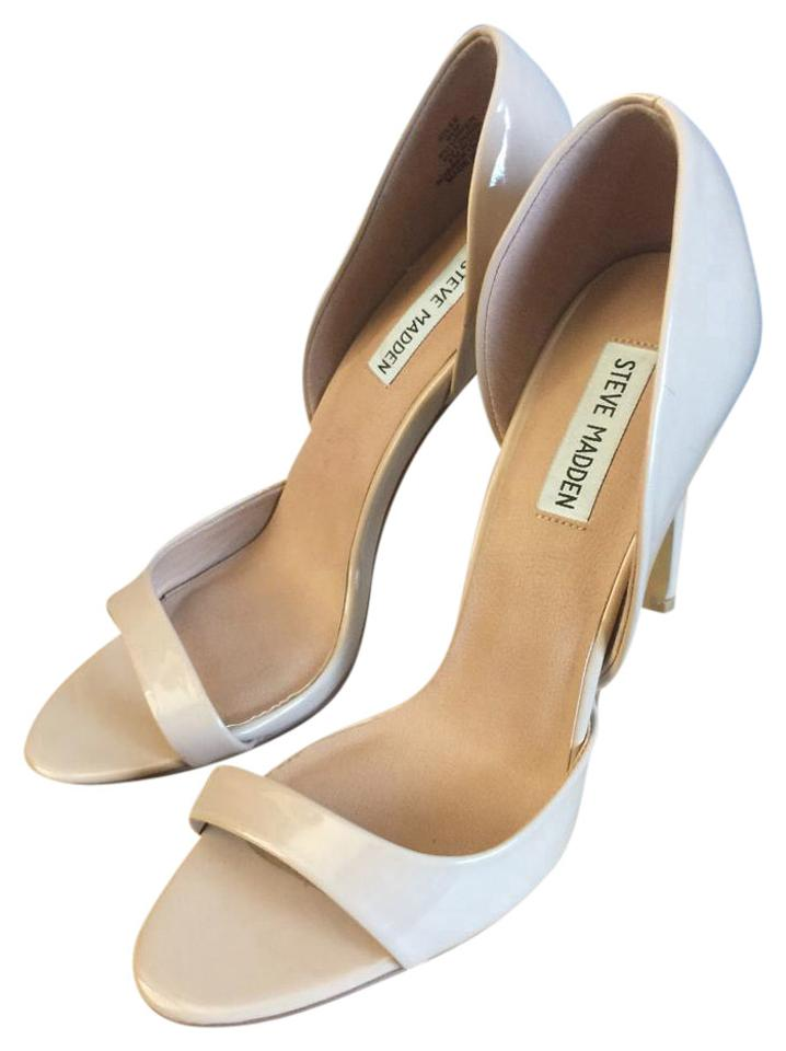 ff68bf6d350 Steve Madden Blush Nude   Beige Silee Patent Leather Pumps Size US 7 ...