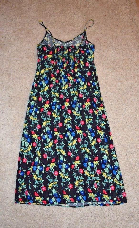 4ab7b4dfb44 Old Navy Black Fit and Flare Cami Mid-length Casual Maxi Dress Size ...