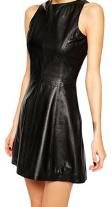 Muubaa Leather Chic Dress