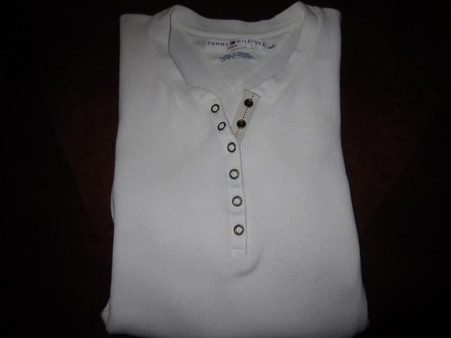 Tommy Hilfiger T Shirt Off White
