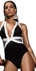 Jet Set JETS by Jessika Allen Luxe Banded Plunge Swimsuit