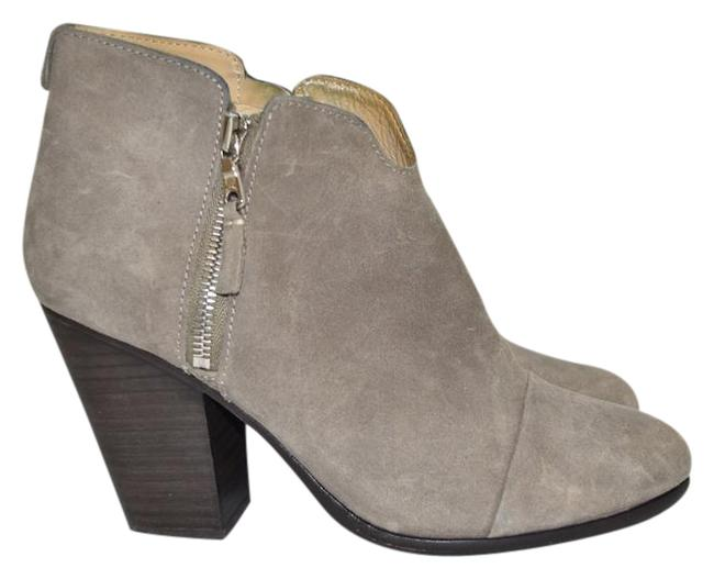 Item - Waxed Suede Leather Grey Margot Ankle B Boots/Booties Size EU 39.5 (Approx. US 9.5) Regular (M, B)