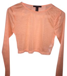 Forever 21 Top Orange / Neon Coral