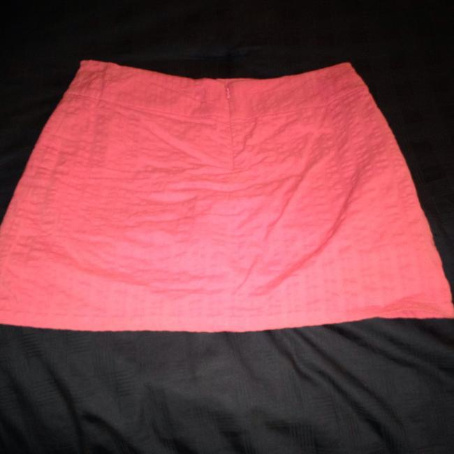 Lilly Pulitzer Stretch Fabric Mini Skirt Pink Image 2